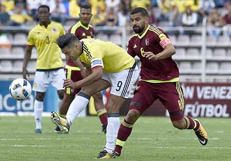 Venezuela se fajó en todos los terrenos con Colombia. Juan Barreto / AFP