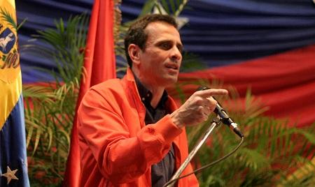 Capriles Radonski se despidió de trabajadores de la gobernación tras 8 años de trabajo