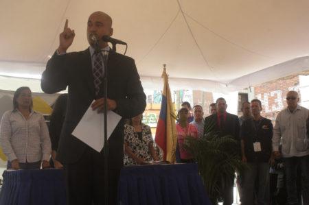 Héctor Rodríguez fue juramentado como nuevo gobernador de Miranda