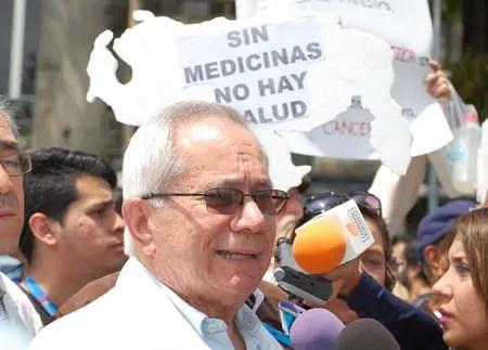 Douglas León Natera, presidente de la Federación Médica Venezolana, pide que se acepte la ayuda humanitaria