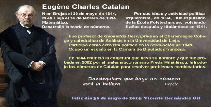 Efemérides: Eugène Charles Catalan -Diario Masónico
