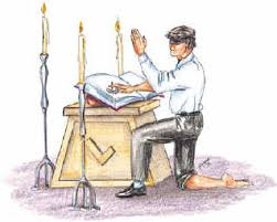 Resultado de imagen para foto del juramento masonico