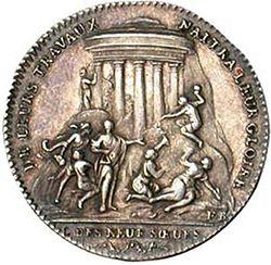 """Medalla de la logia parisina de Les Neuf Soeurs"""""""