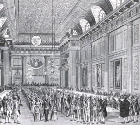 Inauguración de un orfanato masónico en Londres en 1788