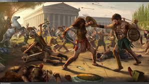 amazonas contra roma