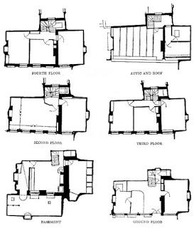 Plano taberna pisos