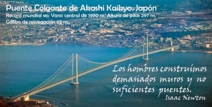Efemérides: Puente del estrecho de Akashi Kaikyo