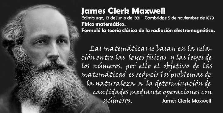 Efem U00e9rides James Clerk Maxwell Descubridor De La Teor U00eda