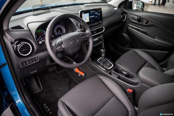 Prueba Hyundai Kona Hybrid 10