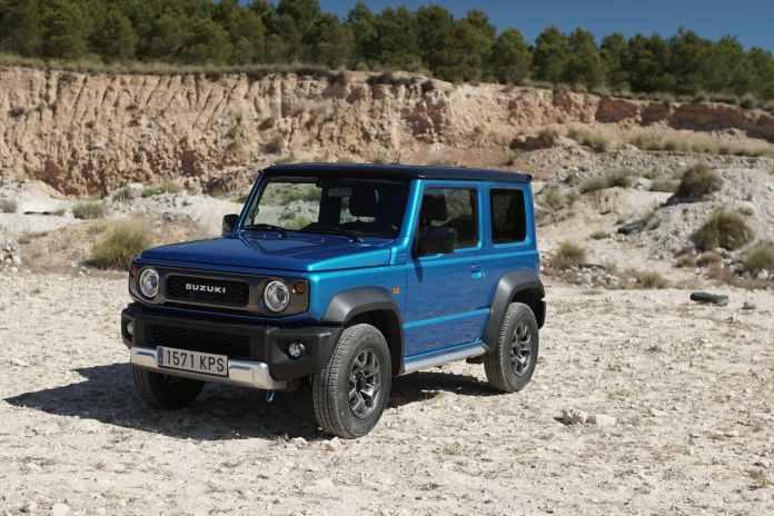 Suzuki Jimny Vs Mercedes Clase G 00009