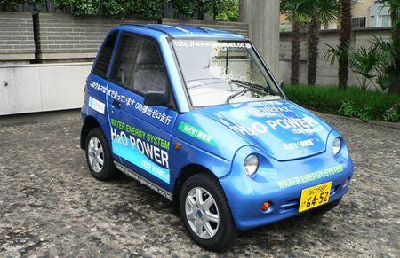 El primer coche cuyo combustible es únicamente agua