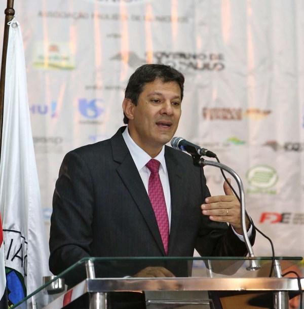 Fernando Haddad, prefeito de São Paulo (Foto Fabio Arantes/SECOM)