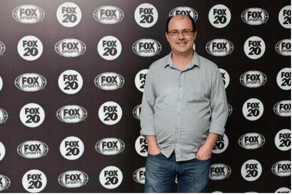 Especializado em endurance, o jornalista Rodrigo Mattar foi nome de destaque na Fox Spots Brasil durante as transmissões da 24 Horas de Le Mans (Foto Fox Sports Brasil)