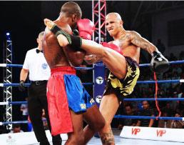Poliesportivo de S.Bernardo tem noite de kickboxing