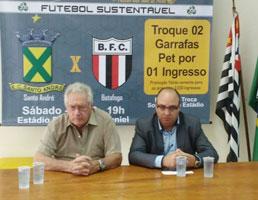 Ingressos para Santo André x Botafogo podem ser trocados por garrafas PET