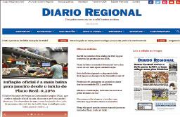 Lideranças celebram novo site do Diário Regional