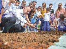 Prefeitura de R.Pires lança o 'Horta Educativa' nas escolas