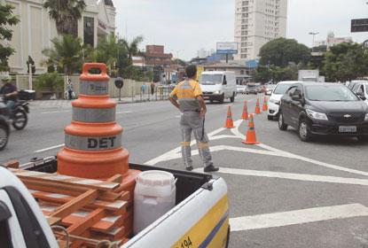 Operação Fluidez reduz congestionamentos nos  horários de pico em S.André