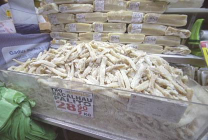 Preço do bacalhau cai 9,4%, mas cesta da Páscoa fica 2,61% mais cara neste ano