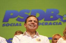 PSDB confirma calendário que favorece candidatura de João Doria a governador