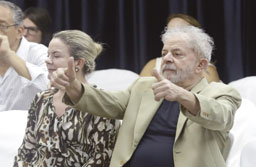 Lula diz que pode ser 'o 1º preso político do país no século 21'