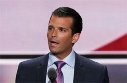 Filho mais velho de Trump se separa da mulher após 12 anos