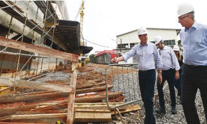 Obras do Hospital de Urgência chegam a 36% de execução