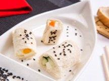Sushi, Torta de Pão com Presunto e Queijo e Lanche Quente de Atum feitos com pão de forma são dicas da marca para uma refeição diferente. Foto: Divulgação