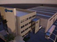 Fábrica no bairro Cooperativa vai produzir seis tipos de peças estruturais. Foto: Reprodução/Saab