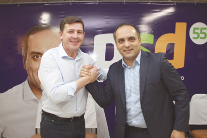Marcelo Lima anuncia pré-candidatura a federal