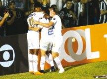 Santos arranca empate do Ceará e deixa o Z4