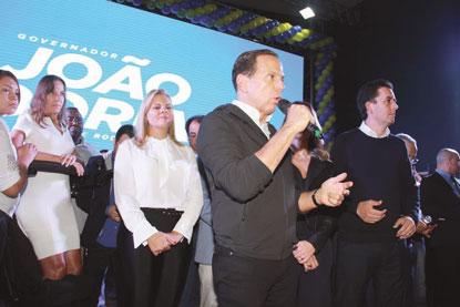 Em Santo André, Doria promete tirar do papel metrô do ABC