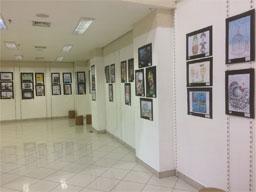 Exposição de artistas do humor toma conta do Shopping Praça da Moça