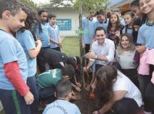 Santo André lança programa Escola Amiga do Meio Ambiente