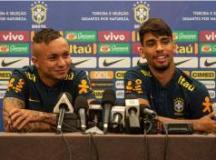 Everton e Paquetá ainda não conversaram com Tite sobre o papel que vão desempenhar no time. Foto: Pedro Martins/MoWA Press