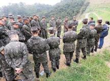 Jovens do Tiro de Guerra visitaram Aterro durante projeto.Foto: Divulgação/Semasa