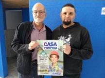 """Jurandir Gallo (esq.):  """"a previsão da primeira fase é um ano"""". Foto: Lucas Miranda/Sindserv"""