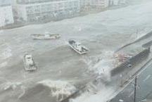 Pior tufão em 25 anos mata sete e cancela 700 voos no Japão