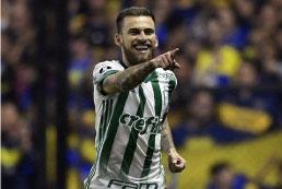 Lucas Lima recupera espaço no Palmeiras