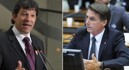 PSDB fica neutro, PTB apoia Bolsonaro, e PSB vai de Haddad