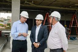Hospital de Urgência de São Bernardo está com 67% das obras concluídas