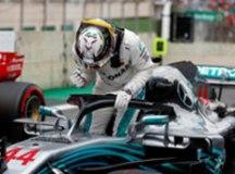 Hamilton quebra recorde duas vezes e confirma pole no GP do Brasil