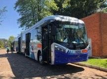 O ônibus escolhido tem carroceria Caio Millenium BRT. Foto: Divulgação/Metra