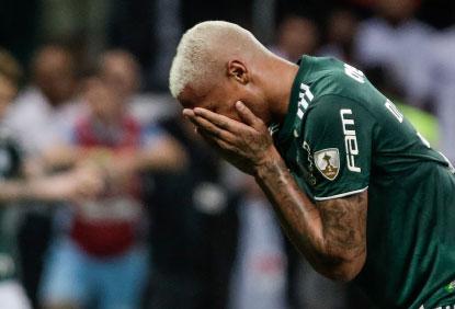Palmeiras só empata e é eliminado da Libertadores