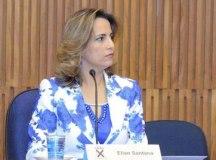 Câmara de S.André suspende vereadora Elian Santana por 180 dias