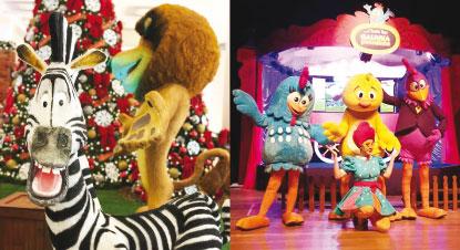 Papai Noel chega aos shoppings do ABC, mas divide protagonismo nas decorações