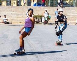 Como é ser mulher e skatista