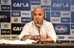 Sampaoli fez elogios a Ganso, apesar de tê-lo barrado no Sevilla. Foto: Ivan Storti/Santos FC