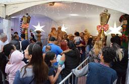 Espetáculo com 900 artistas abre Natal Iluminado em Diadema