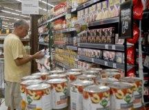 Alimentos pressionaram a inflação para a terceira idade, segundo o Ibre-FGV. Foto: Arquivo